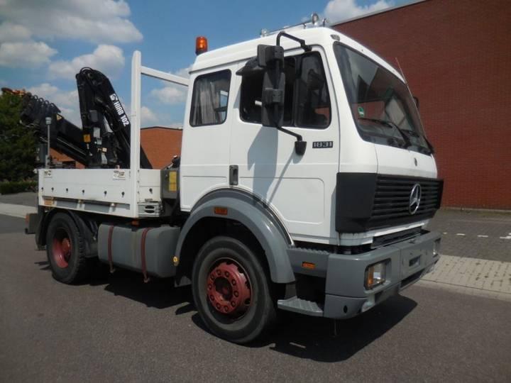 Mercedes-Benz 1831 LS, HIAB 102 - 5 + 2 (17.9 Mtr) - 1992