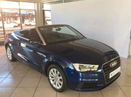 2014 Audi A3 1.4 TFSI S Stronic Cabriolet For Only R369995