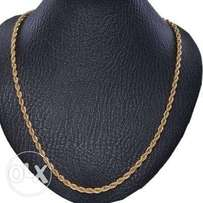Twisted Necklace-Gold