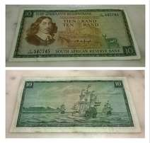 Old Bank Notes (from R50 to R150)