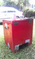 Used Fibreglass Motorbike Carrier Boxes (9 units)
