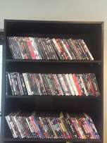 DVD collection, 127 units