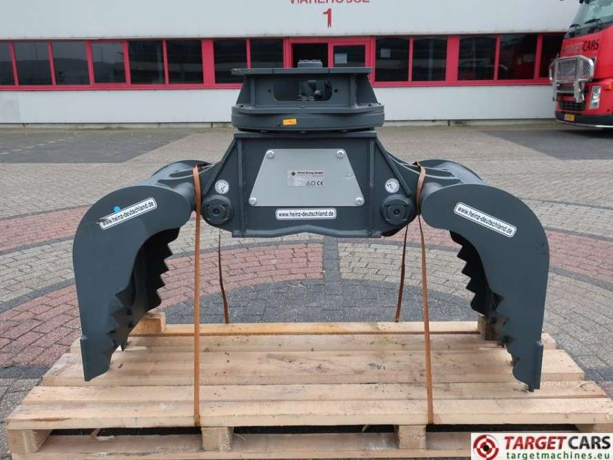 Heinz  HT452CH Hydr.Rotation Sorting 60cm Grapple 5~12T