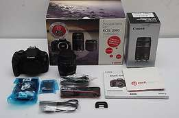 Sandisk 8GB SDHC.1200D, Canon EF-S 18-55mm, Canon EF 75-300mm
