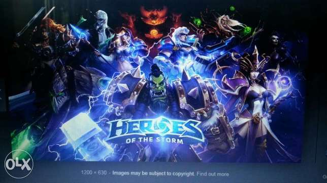 Heroes of the storm + world of warcraft PRO account price negotiable