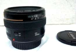 Canon 50mm f/1.4 lens for sale. USM, Ultrasonic auto focus movement .