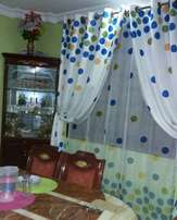 Durable and elegant curtains with matching sheer 600