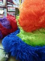Fluffy big ad small pillows ad covers