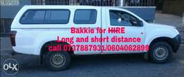 Van and truck for transport hire in Sandton, Randburg, midrand, jhb.
