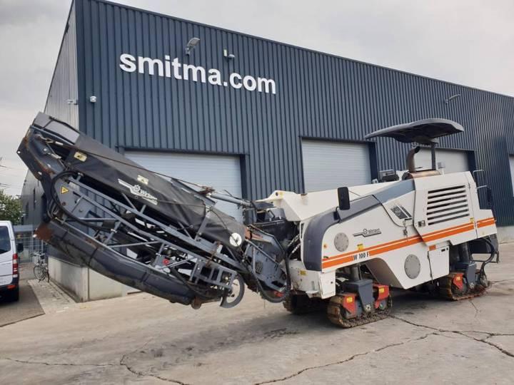 Wirtgen W100 F • SMITMA - 2009