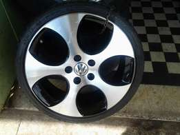 GTI 18inches rims and tyres