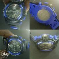 Brand new M-shock blue n black