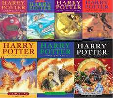 Wanted harry potter books 7 of them price mist be rite