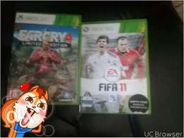 FIFA11 AND FARCRY 4 limted editoin