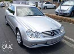 CLK500 silver excellent condition FSH