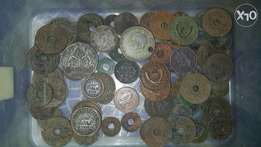 Old Colonial East Africa assorted Coins for Sale
