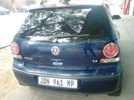 polo 1.4 shadow blue accident free