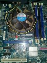 Intell core i3 motherboard and processor