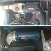 COMBO: Bosch Power DRILL and NEW Bosch professional GRINDER