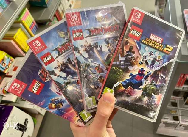 Lego Games For Nintendo Switch (New!)