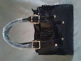 Black bag with a touch of gold