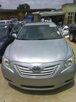 Silver Toyota Camry XLE 2008 model