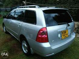 Toyota fielder car on a quick quick Sale.