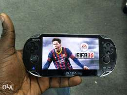 PS VITA with FIFA 14 and 16BG Memory Card For Sale