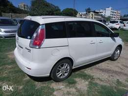 Mazda Premacy White Color KCN number