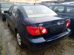 Super clean Toyota corolla 2004 model Lagos cleared