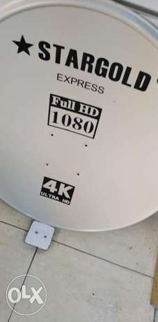 Cctv cameras and dish fixing