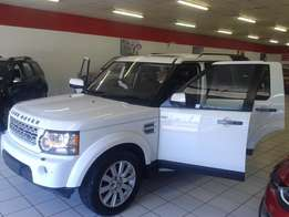 Land Rover Discovery 4 3.0 D V6 HSE, White with 112000km, for sale!