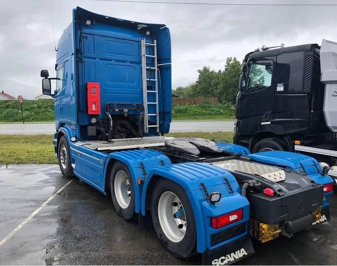 Scania R620 6x4 - 2013