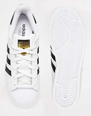 New adidas superstar white sneakers Lagos - image 2