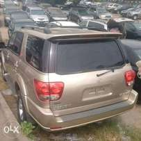 Tokunbo Toyota Sequoia, 2007/08, LIMITED, Very OK