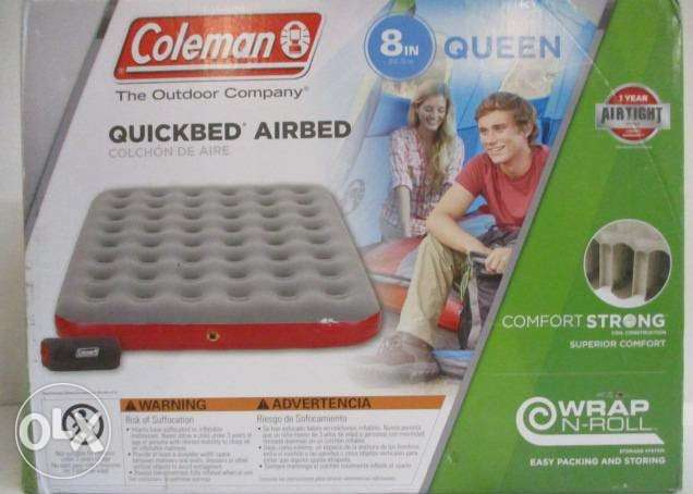 Coleman Top Inflated Quickbed Airbed