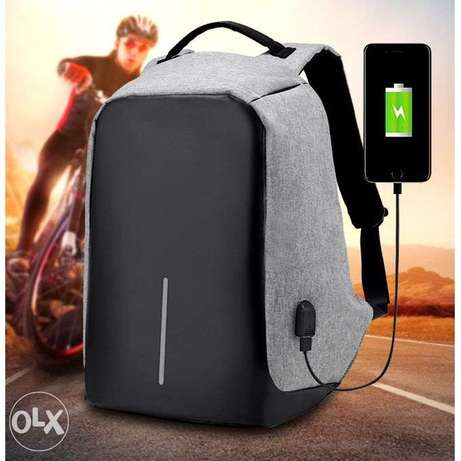 Anti-theft Travel Backpack Business Laptop Book School Bag With USB C Port Harcourt - image 1