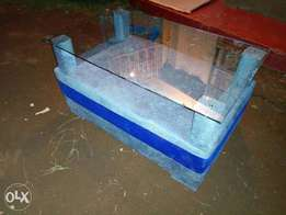 Simple glass table