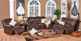 BRAND NEW! 3piece Milan 5 Action Recliner Lounge Suite Only R 14 999