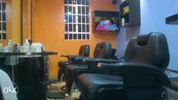 Running Barbershop For Sale in Kikuyu Town.