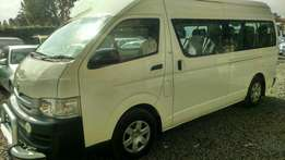 Toyota Hiace 9L, 5 speed manual ,high roof.