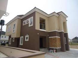 Nicely Finished 4Bedroom Detached Duplex At Victory Park Estate Lekki