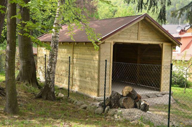10 Garaż Drewniany Wiata Domek Altana Zadaszenie Mirsk Olxpl