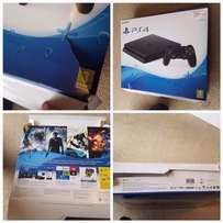 PS4 Slim 500gb console - boxed