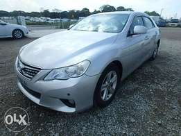 Toyota Mark X Year 2010 Model Automatic Transmission 2WD Silver Color
