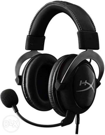 عرض خاص HyperX Cloud II GunMetal جديدة