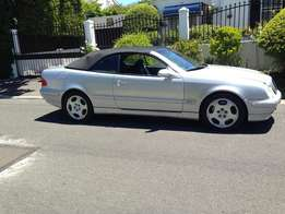 2002 CLK 430 Automatic CABRIOLET one owner from new
