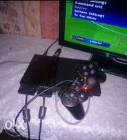 Ps2 full set with 32 gb flash and 10