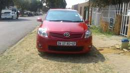 2012 Toyota auris,1.6 trd,76,000kms maroon in colour,good condition