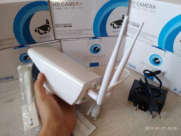 Уличная беспроводная IP WiFi камера с микрофоном IR и LED подсветкой Киев - изображение 6